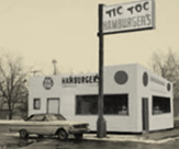 The original location was converted from this hamburger stand.