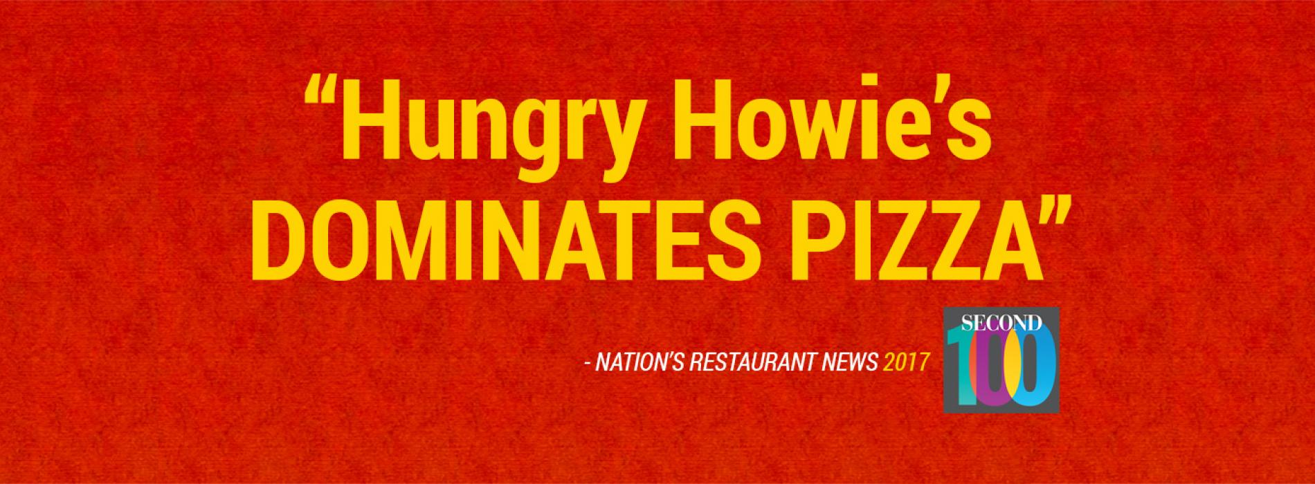 Hungry Howie's Dominates Pizza