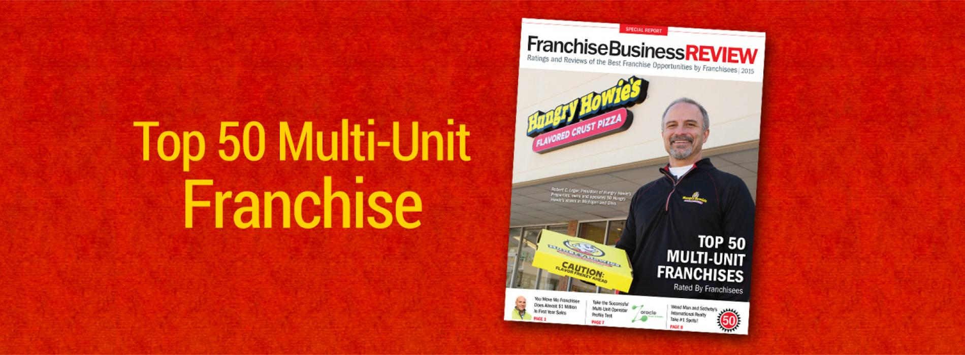 Top 50 Multi-Unit Franchise Opportunities