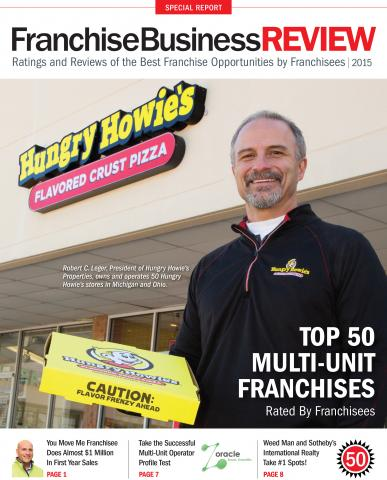 Hungry Howie's is a Top 50 Multi-Unit Franchise
